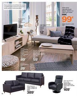 Ofertas de Sofá cama  en el folleto de Carrefour en Telde
