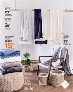 Ofertas de Manta  en el folleto de Carrefour en Santa Cruz de Tenerife