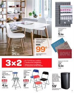 Ofertas de Taburete  en el folleto de Carrefour en Barcelona