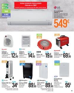 Ofertas de Aire acondicionado  en el folleto de Carrefour en Córdoba