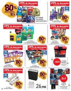 Ofertas de Aceite para motor  en el folleto de Carrefour en Madrid