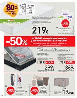 Ofertas de Dormitorios  en el folleto de Carrefour en Alcalá de Henares