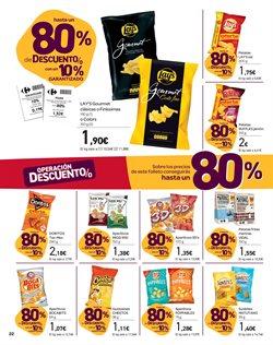 Ofertas de Aperitivos  en el folleto de Carrefour en Madrid