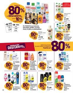 Ofertas de Gel de baño  en el folleto de Carrefour en El Ejido
