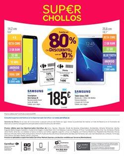 Ofertas de Móviles  en el folleto de Carrefour en Chiclana de la Frontera