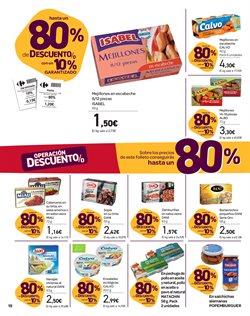 Ofertas de Salchichas frankfurt  en el folleto de Carrefour en Santa Lucía de Tirajana