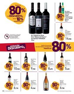 Ofertas de Vino tinto  en el folleto de Carrefour en La Orotava
