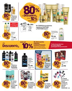 Ofertas de Champú  en el folleto de Carrefour en La Orotava