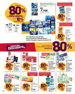 Ofertas de Gillette  en el folleto de Carrefour en La Orotava