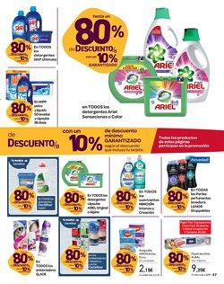 Ofertas de Ariel  en el folleto de Carrefour en Santa Lucía de Tirajana