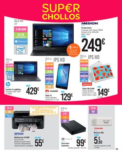 Ofertas de Tablet  en el folleto de Carrefour en Las Palmas de Gran Canaria