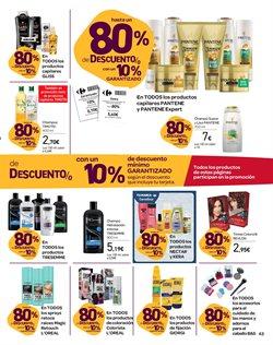 Ofertas de Champú  en el folleto de Carrefour en Ávila