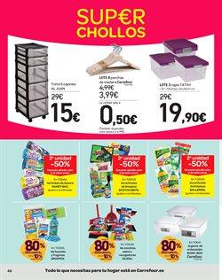 Ofertas de Cajas  en el folleto de Carrefour en Valladolid