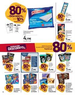 Ofertas de Pescanova  en el folleto de Carrefour en Elche