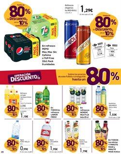 Ofertas de Agua  en el folleto de Carrefour en Mairena del Aljarafe