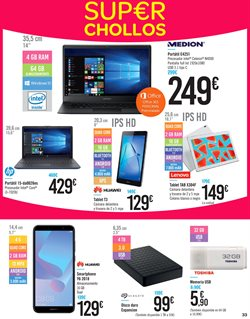Ofertas de Tablet  en el folleto de Carrefour en Dos Hermanas