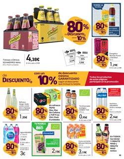 Ofertas de Agua  en el folleto de Carrefour en Valencia