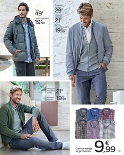 Ofertas de Camisa hombre  en el folleto de Carrefour en Valladolid