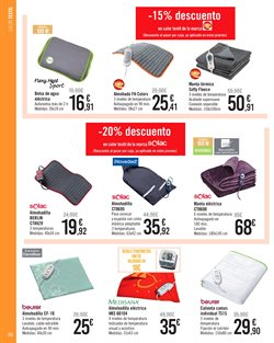 Ofertas de Camas  en el folleto de Carrefour en Alcalá de Henares