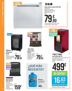 Ofertas de Estufa de pellet  en el folleto de Carrefour en Madrid