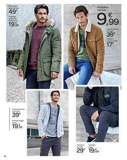 Ofertas de Pantalones hombre  en el folleto de Carrefour en Ávila