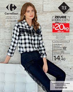 Ofertas de Ropa, zapatos y complementos  en el folleto de Carrefour en Bilbao