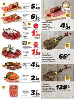 Ofertas de Paleta ibérica de cebo  en el folleto de Carrefour en Zamora