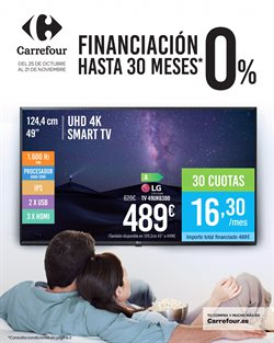 Ofertas de Smart tv  en el folleto de Carrefour en León