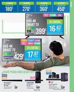 Ofertas de Smart tv led 55''  en el folleto de Carrefour en Dos Hermanas