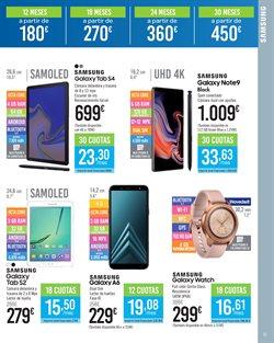 Ofertas de Tablet Samsung  en el folleto de Carrefour en León