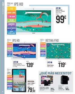 Ofertas de Tablet  en el folleto de Carrefour en Valladolid