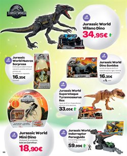 Ofertas de Dinosaurios  en el folleto de Carrefour en Madrid