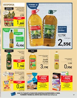 Ofertas de Aceite de oliva virgen extra  en el folleto de Carrefour en Madrid