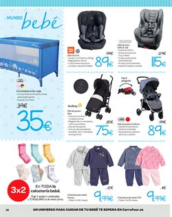 Ofertas de Paseo bebé  en el folleto de Carrefour en Madrid