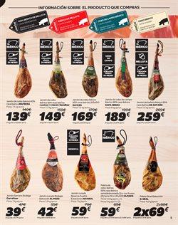 Ofertas de Paleta ibérica  en el folleto de Carrefour en León