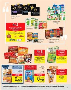 Ofertas de Galletas  en el folleto de Carrefour en Pamplona