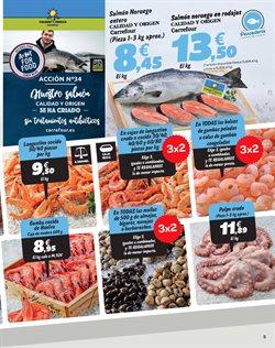 Ofertas de Langostinos  en el folleto de Carrefour en Murcia