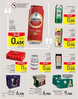 Ofertas de Mahou  en el folleto de Carrefour en El Puerto De Santa María