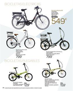 Ofertas de Bicicleta plegable  en el folleto de Carrefour en Madrid