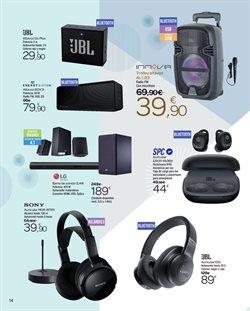 Ofertas de Altavoces bluetooth  en el folleto de Carrefour en Getafe