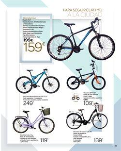 Ofertas de Ciclismo  en el folleto de Carrefour en Palencia