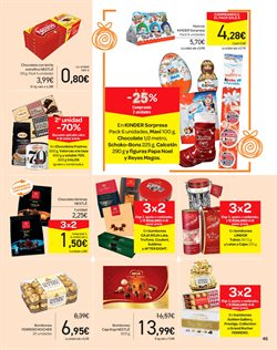 Ofertas de Chocolate  en el folleto de Carrefour en Madrid