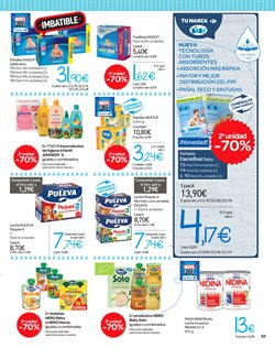 Ofertas de Dodot  en el folleto de Carrefour en San Cristobal de la Laguna (Tenerife)