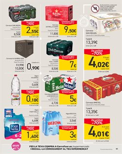 Ofertas de Alhambra  en el folleto de Carrefour en Barcelona