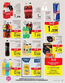 Ofertas de Refrescos  en el folleto de Carrefour en Madrid