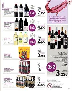 Ofertas de Vino tinto  en el folleto de Carrefour en Valencia