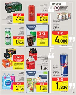 Ofertas de Cerveza  en el folleto de Carrefour en Granollers