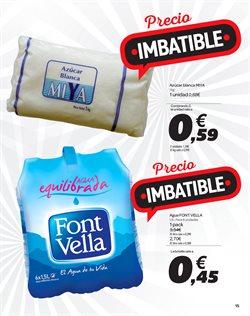 Ofertas de Agua  en el folleto de Carrefour en San Bartolomé de Tirajana
