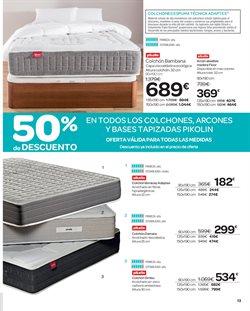 Ofertas de Colchones  en el folleto de Carrefour en Alcalá de Henares