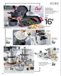 Ofertas de Batería de cocina  en el folleto de Carrefour en Alcalá de Henares